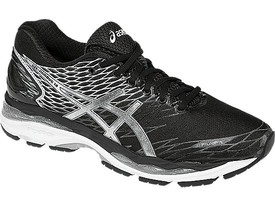 GEL-Nimbus 18 Black/Silver/Carbon 7
