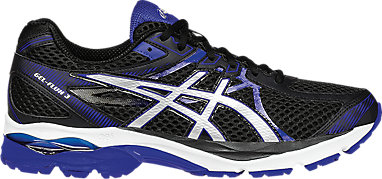 bafda47669c GEL-Flux 3 Black Silver ASICS Blue 3 RT