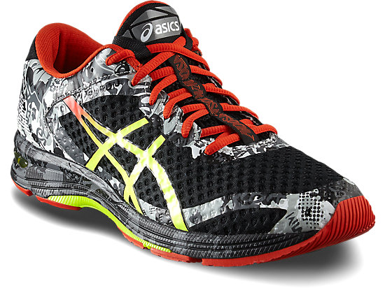 GEL-NOOSA TRI 11 BLACK/NEON YELLOW/SILVER 7 FR