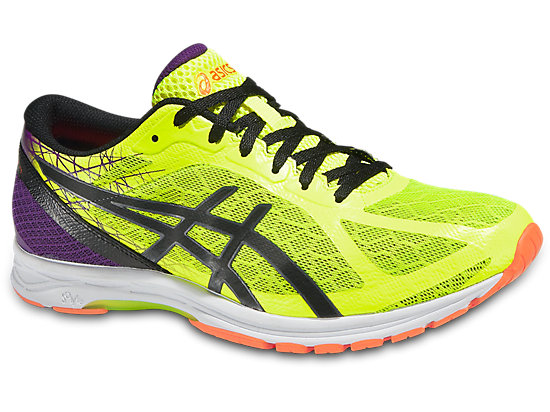GEL-DSRACER11 FLASH YELLOW/BLACK/CHINESE RED 3