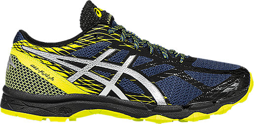 Asics Trail Running Shoes Gel-Fujilyte Yellow Mediterranean Mens