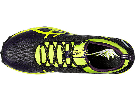 GEL-FujiRunnegade 2 BLACK/SAFETY YELLOW/INFINITY PURPLE 19