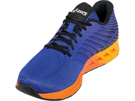fuzeX ASICS Blue/Indigo Blue/Hot Orange 11