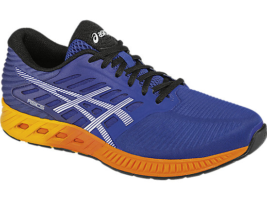 fuzeX ASICS Blue/Indigo Blue/Hot Orange 7