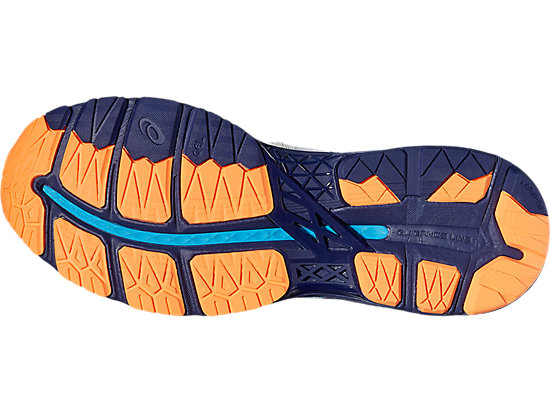 GEL-KAYANO WHITE/INDIGO BLUE/HOT ORANGE 11