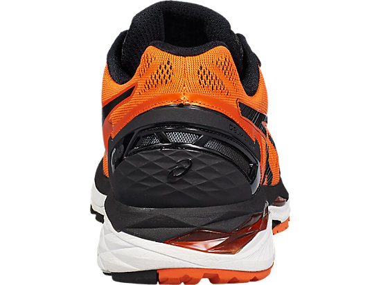 GEL-KAYANO 23 FLAME ORANGE/BLACK/SAFETY YELLOW 23 BK