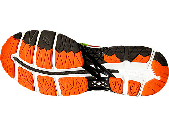GEL-KAYANO FLAME ORANGE/BLACK/SAFETY YELLOW 15