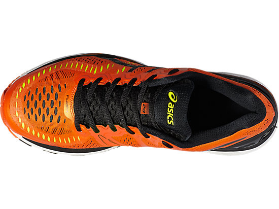 GEL-KAYANO FLAME ORANGE/BLACK/SAFETY YELLOW 19