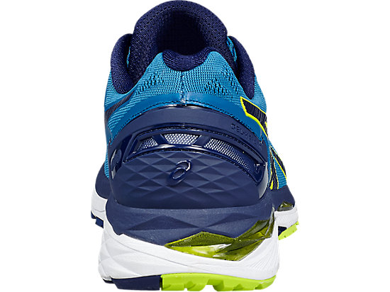 GEL-KAYANO 23 THUNDER BLUE/SAFETY YELLOW/INDIGO BLUE 19