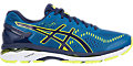 GEL-Kayano 23:Thunder Blue/Safety Yellow/Indigo Blue