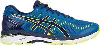 ASICS GEL Kayano 23 Running Shoe Thunder BlueSafety Yellow