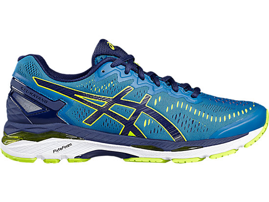 GEL-KAYANO 23 THUNDER BLUE/SAFETY YELLOW/INDIGO BLUE 3 RT