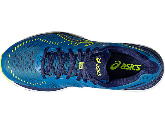 GEL-KAYANO 23 THUNDER BLUE/SAFETY YELLOW/INDIGO BLUE 15