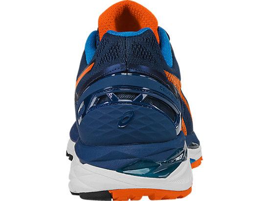 GEL-Kayano 23 Poseidon/Flame Orange/Blue Jewel 27
