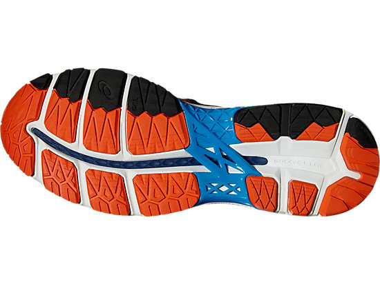 GEL-KAYANO POSEIDON/FLAME ORANGE/BLUE JEWEL 15