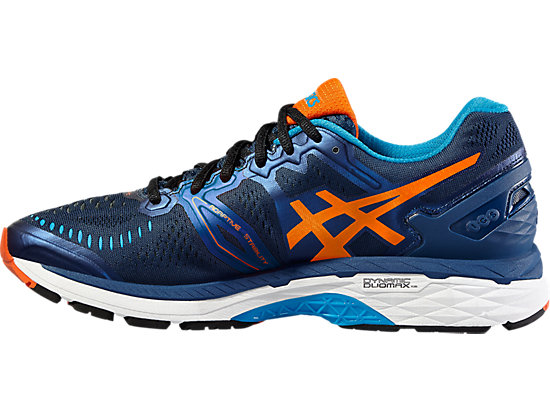 GEL-KAYANO POSEIDON/FLAME ORANGE/BLUE JEWEL 11