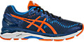 GEL-Kayano 23:Poseidon/Flame Orange/Blue Jewel