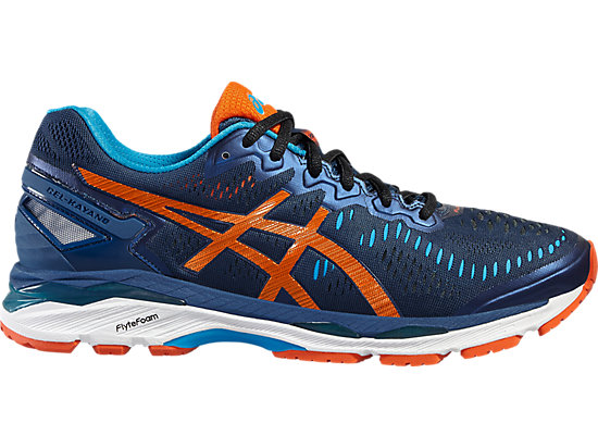 GEL-KAYANO POSEIDON/FLAME ORANGE/BLUE JEWEL 3