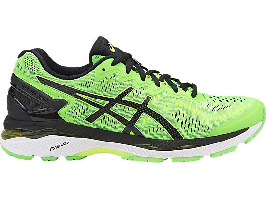 GEL-KAYANO 23 GREEN GECKO/BLACK/SAFETY YELLOW