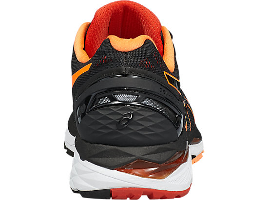 GEL-KAYANO 23 BLACK/HOT ORANGE/VERMILION 19