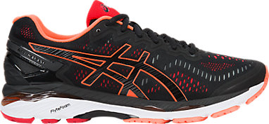 GEL-Kayano 23 Black Hot Orange Vermilion 3 RT 8da6c79ca6