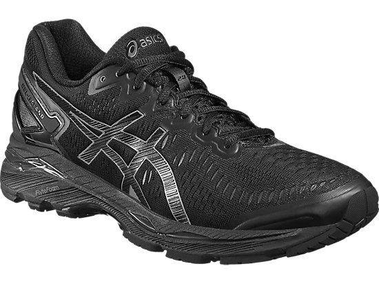 GEL-KAYANO 23 BLACK/ONYX/CARBON 7 FR