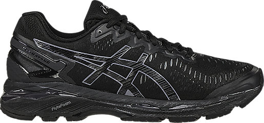 GEL-Kayano 23 Black/Onyx/Carbon 3 RT