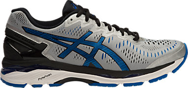 GEL-Kayano 23 (2E) Silver Imperial Black 3 RT 219f8ebb1d
