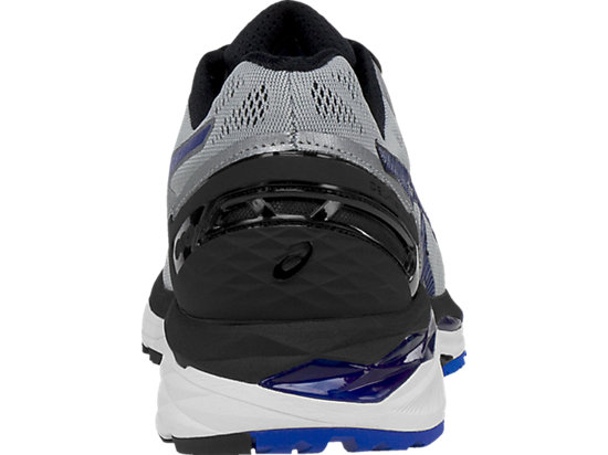 GEL-Kayano 23 (4E) Silver/Imperial/Black 27