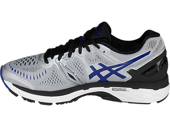 GEL-Kayano 23 (4E) Silver/Imperial/Black 15