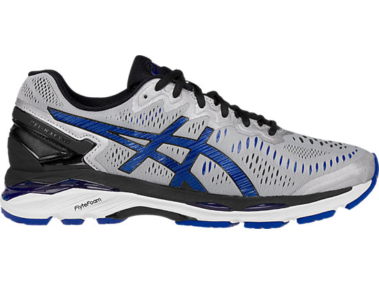 GEL-Kayano 23 (4E) Silver/Imperial/Black 3