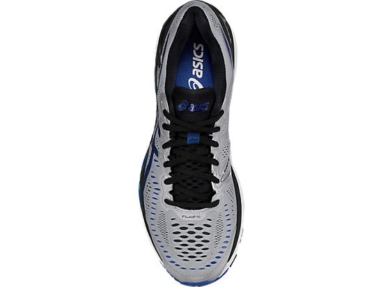 GEL-Kayano 23 (4E) Silver/Imperial/Black 23