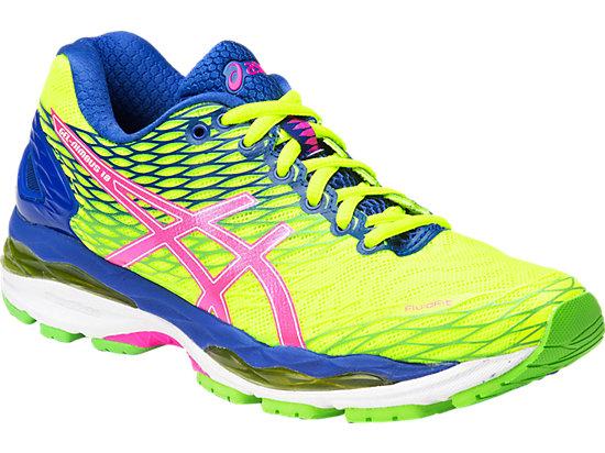GEL-Nimbus 18 Flash Yellow/Pink Glow/Asics Blue 3