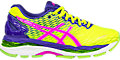 GEL-Nimbus 18:Flash Yellow/Pink Glow/ASICS Blue