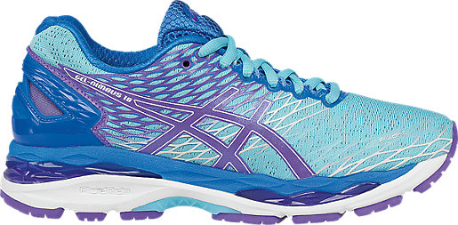 ASICS Tiger Women's GEL-Nimbus 18 Running Trainers AS-40793232