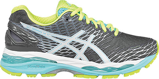 asics gel-nimbus 18 women's running shoes size 8.5
