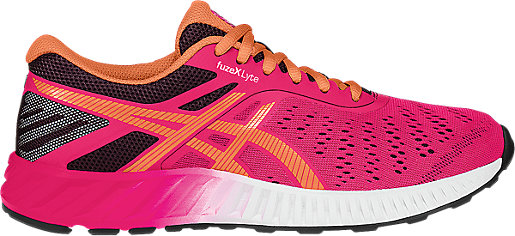 Asics Womens Fuze X Lyte Shoes Womens Azalea/Melon/Eggplant