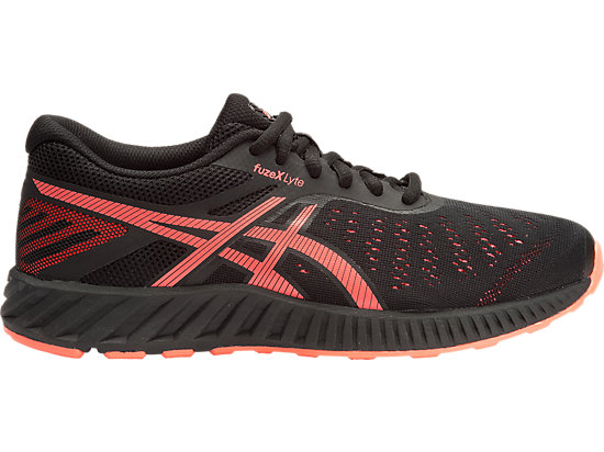 fuzeX Lyte BLACK/FLASH CORAL/ONYX 15