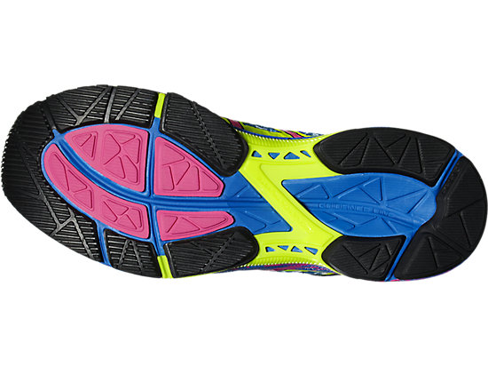 GEL-NOOSA TRI 11 SAFETY YELLOW/HOT PINK/ELECTRIC BLUE 15