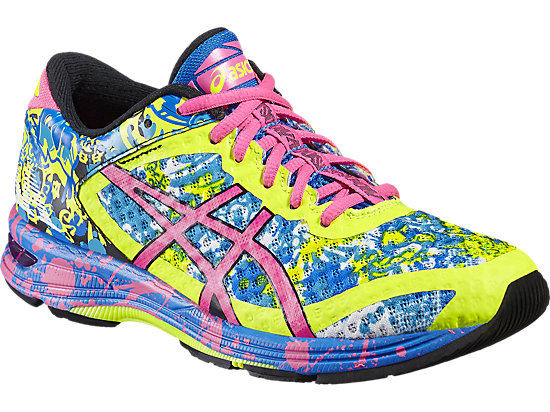 GEL-NOOSA TRI 11 SAFETY YELLOW/HOT PINK/ELECTRIC BLUE 7