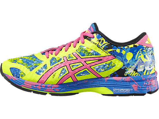 GEL-NOOSA TRI 11 SAFETY YELLOW/HOT PINK/ELECTRIC BLUE 11