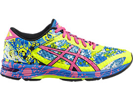 GEL-NOOSA TRI 11, Safety Yellow/Hot Pink/Electric Blue
