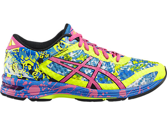 GEL-NOOSA TRI 11 SAFETY YELLOW/HOT PINK/ELECTRIC BLUE 3