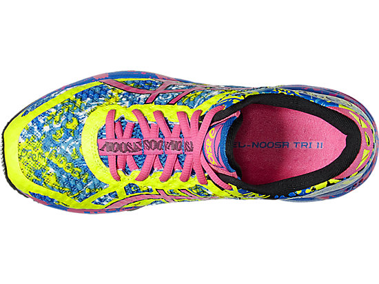 GEL-NOOSA TRI 11 SAFETY YELLOW/HOT PINK/ELECTRIC BLUE 19