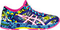GEL-Noosa Tri 11:ASICS Blue/White/Hot Pink