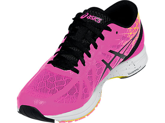GEL-DS Racer 11 Hot Pink/Black/Flash Yellow 11