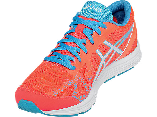 GEL-Hyper Speed 7 Flash Coral/White/Turquoise 11