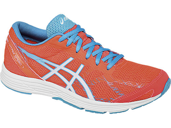 GEL-Hyper Speed 7 Flash Coral/White/Turquoise 7