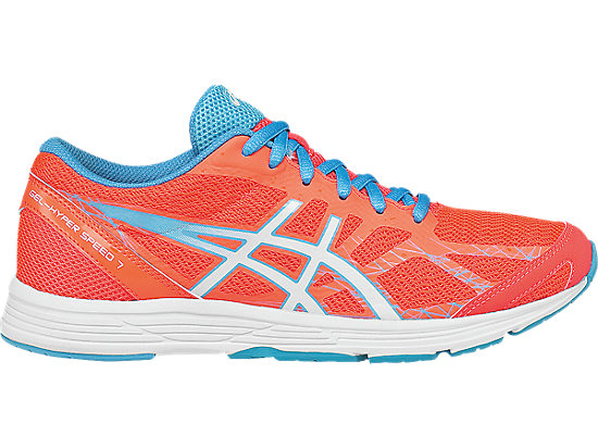 GEL-Hyper Speed 7 Flash Coral/White/Turquoise 3