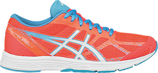 GEL-Hyper Speed 7 Flash Coral/White/Turquoise 3 RT